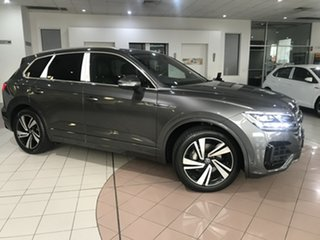 2020 Volkswagen Touareg CR 210TDI R-Line Silicon Grey Metallic 8 Speed Automatic SUV.