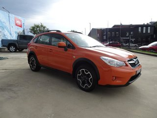 2013 Subaru XV G4X MY14 2.0i Lineartronic AWD Tangerine Orange 6 Speed Automatic Wagon.