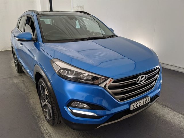 Used Hyundai Tucson TLE Highlander AWD Maryville, 2015 Hyundai Tucson TLE Highlander AWD Blue 6 Speed Sports Automatic Wagon
