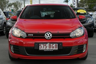 2011 Volkswagen Golf VI MY12 GTI DSG Red 6 Speed Sports Automatic Dual Clutch Hatchback.