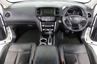 2016 Nissan Pathfinder R52 MY15 Upgrade ST (4x2) White Continuous Variable Wagon
