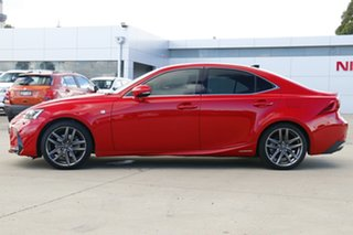 2018 Lexus IS AVE30R IS300h F Sport Red 1 Speed Constant Variable Sedan Hybrid