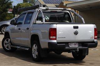 2017 Volkswagen Amarok 2H MY17 TDI420 4MOTION Perm Core Reflex Silver 8 Speed Automatic Utility.