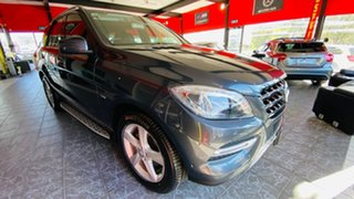 2012 Mercedes-Benz M-Class W166 ML250 BlueTEC 7G-Tronic + Grey 7 Speed Sports Automatic Wagon.