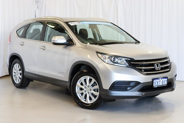 Used Honda CR-V RM MY15 VTi 4WD Wangara, 2014 Honda CR-V RM MY15 VTi 4WD Silver 5 Speed Sports Automatic Wagon