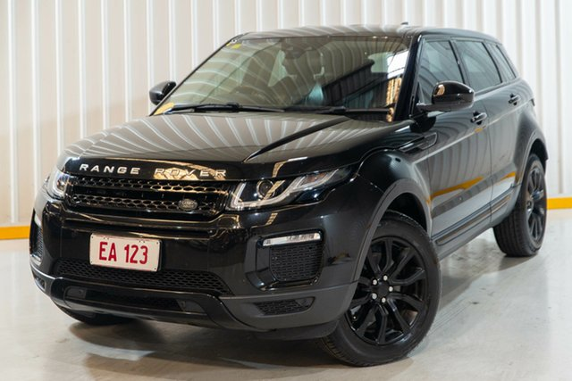 Used Land Rover Range Rover Evoque L538 MY17 TD4 150 SE Hendra, 2017 Land Rover Range Rover Evoque L538 MY17 TD4 150 SE Black 9 Speed Sports Automatic Wagon