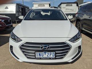 2018 Hyundai Elantra AD MY18 Active White 6 Speed Sports Automatic Sedan