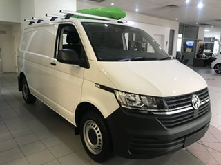 2020 Volkswagen Transporter T6 SWB Crewvan Candy White 7 Speed Semi Auto Van.