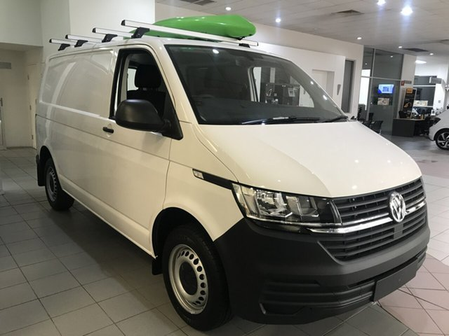 New Volkswagen Transporter T6 Transporter Hamilton, 2020 Volkswagen Transporter T6 SWB Crewvan Candy White 7 Speed Semi Auto Van