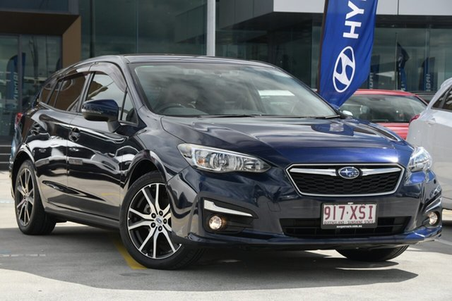 Used Subaru Impreza G5 MY17 2.0i-L CVT AWD Aspley, 2017 Subaru Impreza G5 MY17 2.0i-L CVT AWD Dark Blue 7 Speed Constant Variable Hatchback