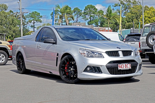 Used Holden Special Vehicles Maloo Gen-F MY14 R8 Chandler, 2014 Holden Special Vehicles Maloo Gen-F MY14 R8 Silver 6 Speed Sports Automatic Utility