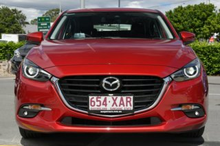 2016 Mazda 3 BN5438 SP25 SKYACTIV-Drive GT Red 6 Speed Sports Automatic Hatchback