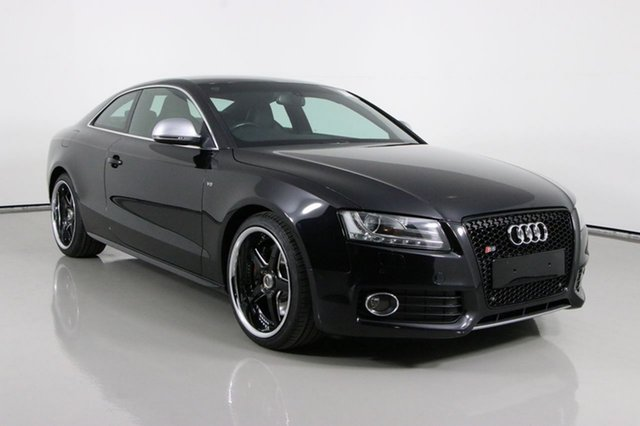 Used Audi S5 8T 4.2 FSI Quattro Bentley, 2008 Audi S5 8T 4.2 FSI Quattro Black 6 Speed Manual Coupe