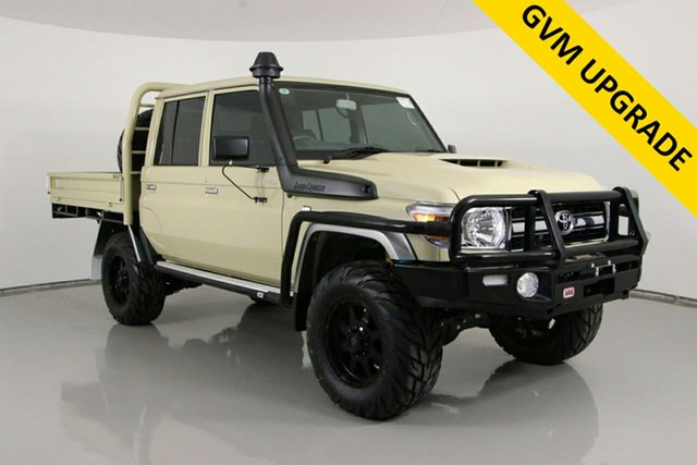 Used Toyota Landcruiser VDJ79R GXL (4x4) Bentley, 2020 Toyota Landcruiser VDJ79R GXL (4x4) Sandy Taupe 5 Speed Manual Double Cab Chassis