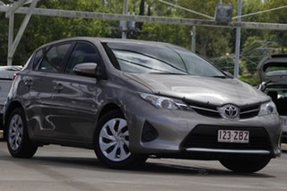 2014 Toyota Corolla ZRE182R Ascent Grey 6 Speed Manual Hatchback.