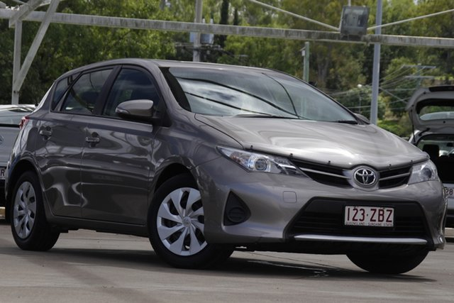 Used Toyota Corolla ZRE182R Ascent Bundamba, 2014 Toyota Corolla ZRE182R Ascent Grey 6 Speed Manual Hatchback
