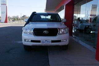 2011 Toyota Landcruiser VDJ200R MY10 Altitude White 6 Speed Sports Automatic Wagon.