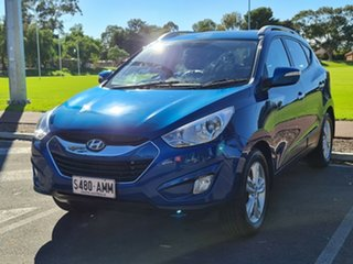 2010 Hyundai ix35 LM Elite AWD Blue 6 Speed Sports Automatic Wagon.