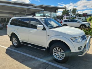 2012 Mitsubishi Challenger PB (KG) MY12 White 5 Speed Sports Automatic Wagon.