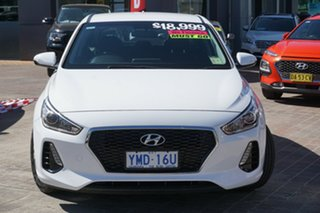 2017 Hyundai i30 GD4 Series II MY17 Active White 6 Speed Manual Hatchback.