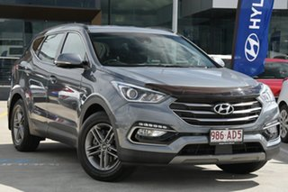 2017 Hyundai Santa Fe DM4 MY18 Active Silver 6 Speed Sports Automatic Wagon.