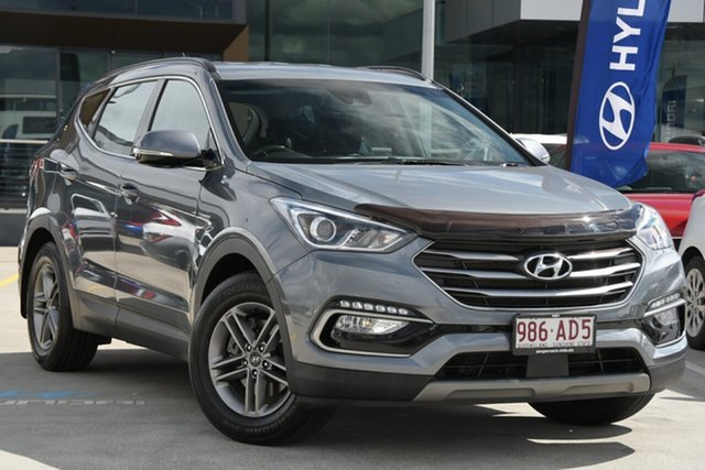 Used Hyundai Santa Fe DM4 MY18 Active Aspley, 2017 Hyundai Santa Fe DM4 MY18 Active Silver 6 Speed Sports Automatic Wagon