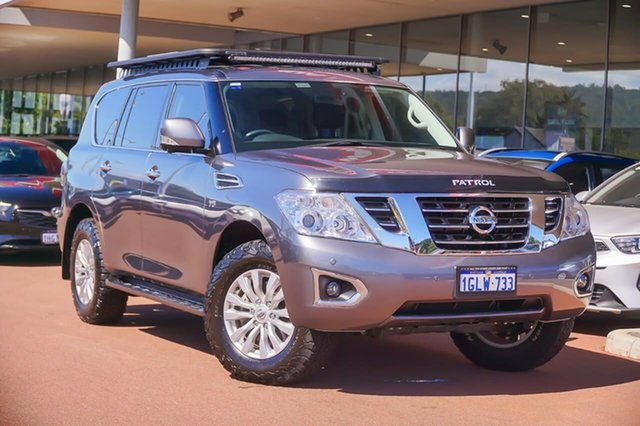 Used Nissan Patrol Y62 Series 4 TI Gosnells, 2018 Nissan Patrol Y62 Series 4 TI Grey 7 Speed Sports Automatic Wagon