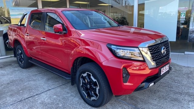 Demo Nissan Navara D23 MY21 ST-X Moorooka, 2021 Nissan Navara D23 MY21 ST-X Burning Red 7 Speed Sports Automatic Utility