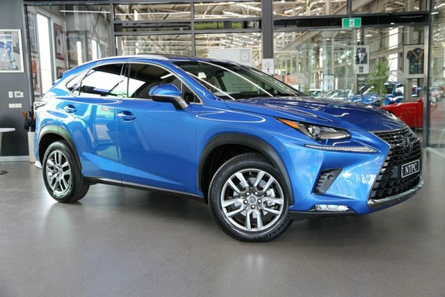 Used Lexus NX AGZ15R NX300 AWD Luxury North Melbourne, 2018 Lexus NX AGZ15R NX300 AWD Luxury Blue 6 Speed Sports Automatic Wagon