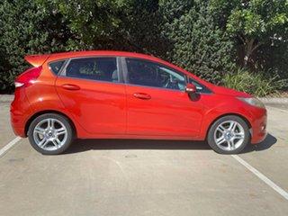 2012 Ford Fiesta WT Zetec Orange 5 Speed Manual Hatchback