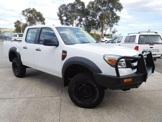 Used Ford Ranger PK XL Crew Cab Wangara, 2009 Ford Ranger PK XL Crew Cab White 5 Speed Manual Utility