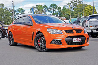 2013 Holden Special Vehicles ClubSport Gen-F MY14 R8 Orange 6 Speed Sports Automatic Sedan.