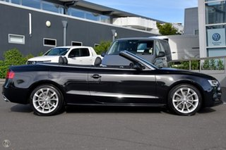 2014 Audi A5 8T MY14 S Tronic Quattro Black 7 Speed Sports Automatic Dual Clutch Cabriolet.