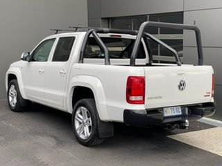 2017 Volkswagen Amarok 2H MY18 TDI420 4MOTION Perm Core White 8 Speed Automatic Utility