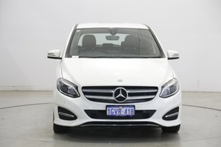 2017 Mercedes-Benz B-Class W246 808MY B200 DCT White 7 Speed Sports Automatic Dual Clutch Hatchback.