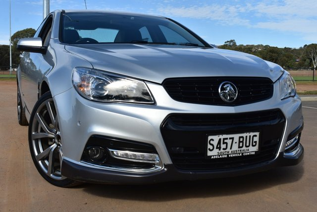 Used Holden Commodore VF MY14 SV6 Storm St Marys, 2014 Holden Commodore VF MY14 SV6 Storm Silver 6 Speed Manual Sedan
