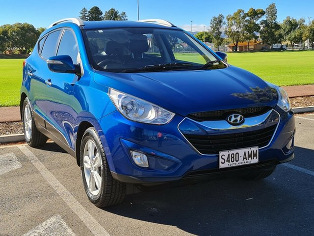 Used Hyundai ix35 LM Elite AWD Nailsworth, 2010 Hyundai ix35 LM Elite AWD Blue 6 Speed Sports Automatic Wagon