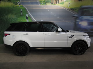 2014 Land Rover Range Rover LW Sport 3.0 SDV6 HSE White 8 Speed Automatic Wagon.