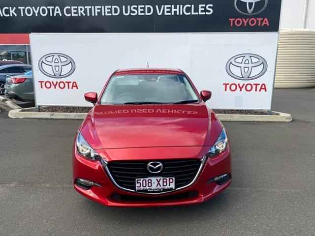 Pre-Owned Mazda 3 BM MY15 Neo Warwick, 2016 Mazda 3 BM MY15 Neo Red 6 Speed Manual Hatchback