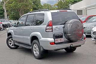 2006 Toyota Landcruiser Prado KZJ120R GXL Silver 4 Speed Automatic Wagon.