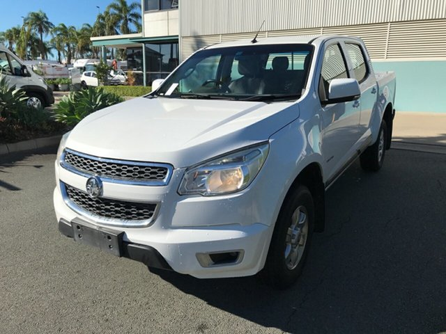 Used Holden Colorado RG MY14 LT Crew Cab 4x2 Acacia Ridge, 2014 Holden Colorado RG MY14 LT Crew Cab 4x2 White 6 speed Manual Utility
