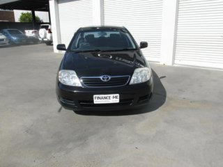 2006 Toyota Corolla ZZE122R 5Y Ascent Black 4 Speed Automatic Sedan