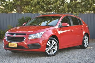 2015 Holden Cruze JH Series II MY15 Equipe Red 6 Speed Sports Automatic Hatchback.