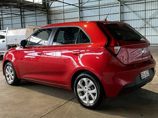 2020 MG MG3 SZP1 MY20 Core Red 4 Speed Automatic Hatchback