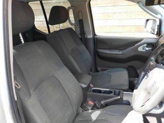 2012 Nissan Navara D40 S6 MY12 ST Silver 6 Speed Manual Utility