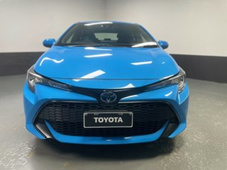 2018 Toyota Corolla ZWE211R Ascent Sport E-CVT Hybrid Blue 10 Speed Constant Variable Hatchback.