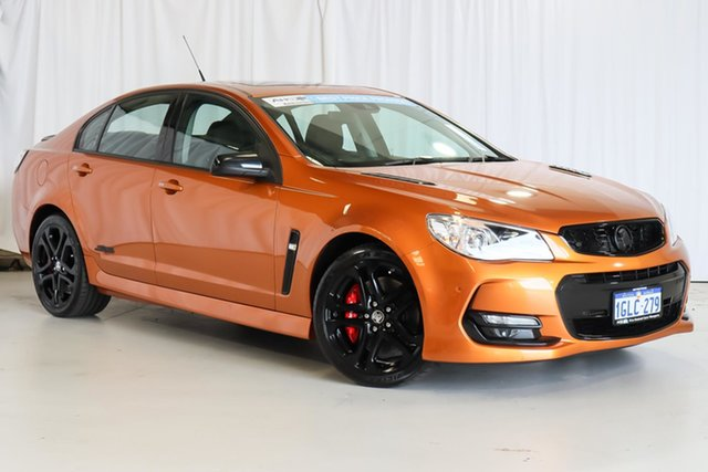 Used Holden Commodore VF II MY17 SS V Redline Wangara, 2017 Holden Commodore VF II MY17 SS V Redline Orange 6 Speed Sports Automatic Sedan