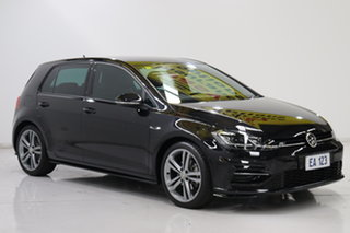 2018 Volkswagen Golf 7.5 MY18 110TSI DSG Highline Black/Grey 7 Speed Sports Automatic Dual Clutch