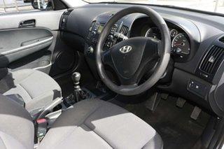 2009 Hyundai i30 FD MY09 SX White 5 Speed Manual Hatchback
