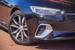2019 Holden Commodore ZB MY19.5 RS Liftback AWD Black 9 Speed Sports Automatic Liftback.